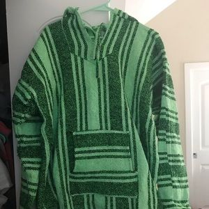Sweaters - Lime Green Sweatshirt from Mexico